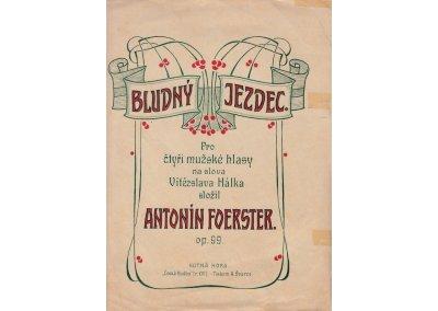 Foerster Antonín: Bludný jezdec op.99