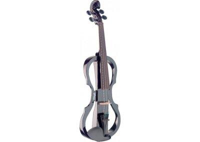 Stagg EVN X-4/4 BK, elektrické housle, černé