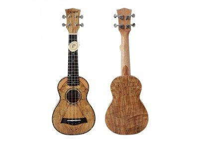 Sopránové ukulele AIERSI SU081 - Spalted Maple