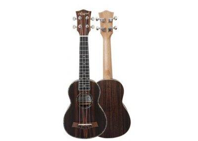 Aiersi SU201 Java ebony body ukulele sopranové