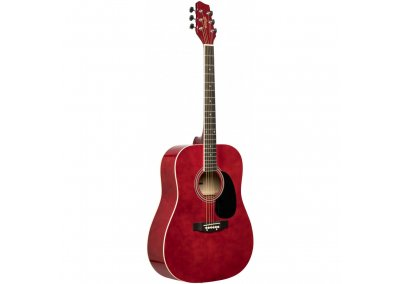 Stagg SA20D RED, akustická kytara