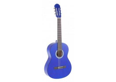 PURE GEWA Klasická kytara 3/4 modrá