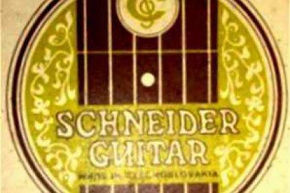 Schneider Guitar Czechoslovakia