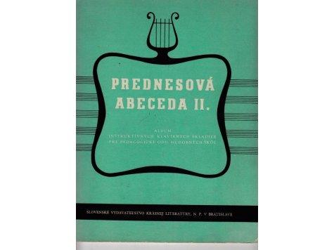 PREDNESOVÁ ABECEDA II.