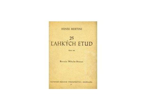 Bertini Henri: 25 l´ahkých etud op.100