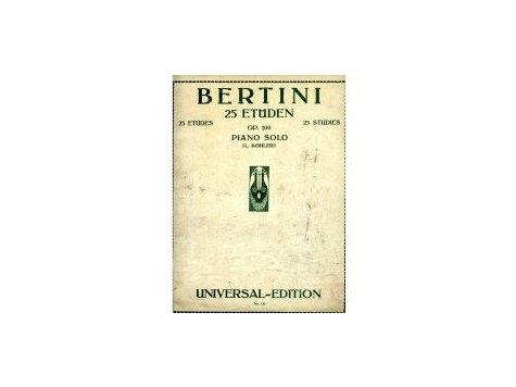 Bertini Henri: 25 etud op.100 - II.
