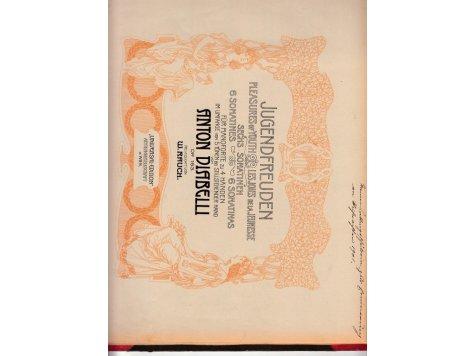 Diabelli Anton: Jugendfreuden- 6 sonatin