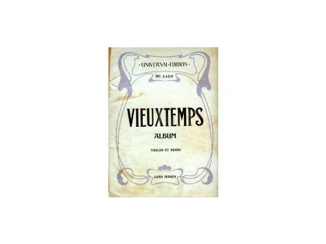 Vieuxtemps Henri: Album pour Violon et Piano