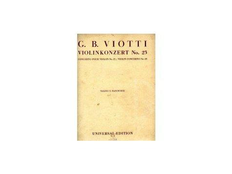 Viotti G.B.: Violinkonzert No.23