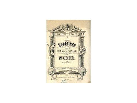 Weber Carl Maria: Sonatines pro klavír a housle