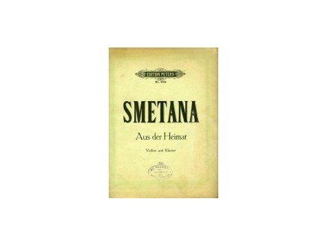 Smetana Bedřich: Aus der Heimat pro housle a klavír