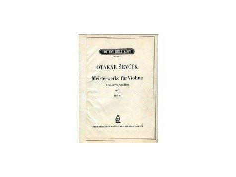 Ševčík Otakar: Meisterwerke für Violine op.7,seš.II