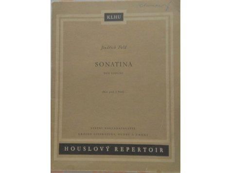 Feld Jindřich: Sonatina pro dvoje housle /2