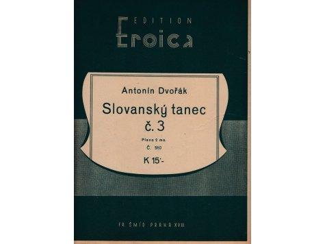 Dvořák Ant.: Slovanský tanec č.3 /2.exemp.