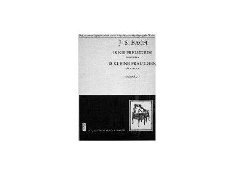 Bach J.S.: 18 kleine präludien