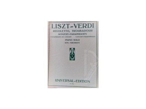 LISZT Franz - VERDI