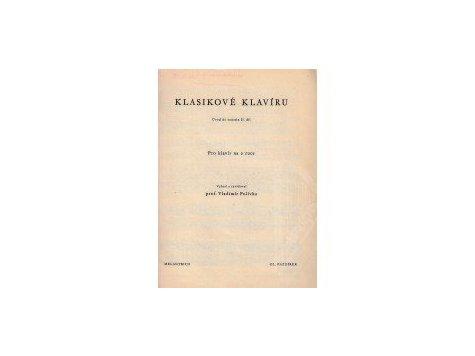 Klasikové klavíru-úvod do sonatin II.díl