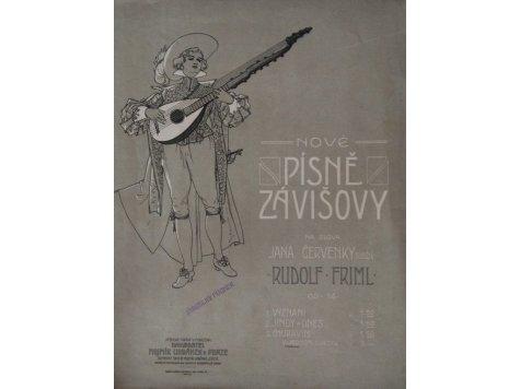 Friml Rudolf: Nové Písně Závišovy op.14