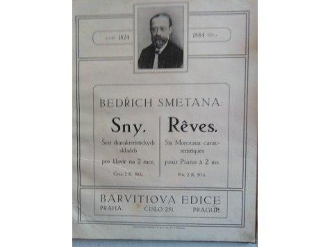 Smetana Bedřich: Sny-6 charakteristických skladeb