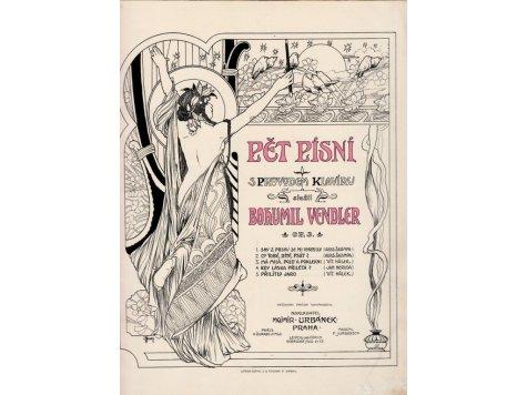 Vendler Bohumil: Pět písní s průvodem klavíru op.3