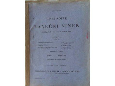 Novák Josef: Taneční vínek pro dvoje housle - sešit I.