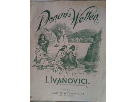 Ivanovici I.: Donau-Wellen (Dunajské vlny) - valčík