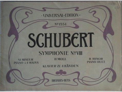 Schubert F.: Symphonie No.VIII h-moll