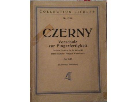 Czerny Carl: Vorschule zur Fingerfertigkeit op.636