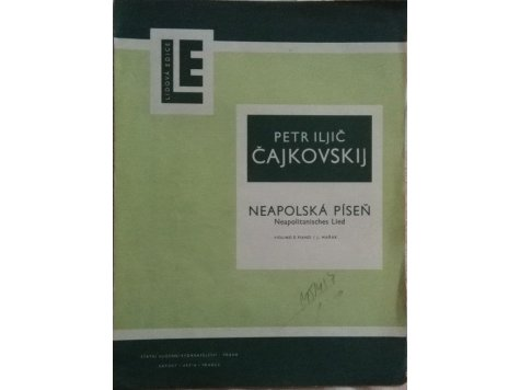 Čajkovskij P.I.: Neapolská píseň op.39 č.18