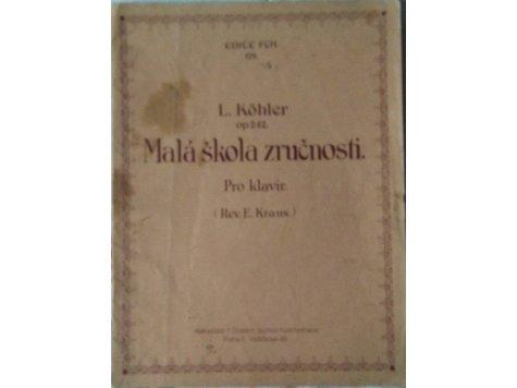 Köhler L.: Malá škola zručnosti op.242
