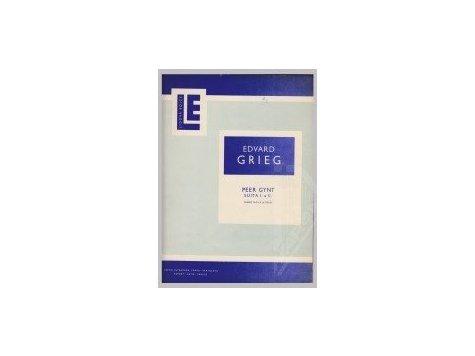 Grieg Edvard: Peer Gynt - suita I.a II.