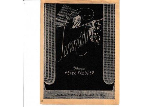Kreuder Peter: Serenáda - píseň