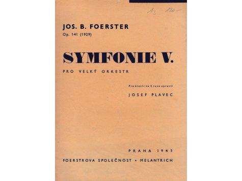 Foerster Jos.B.: Symfonie V.