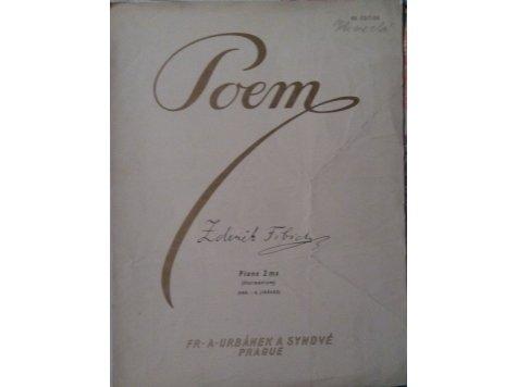 Fibich Zdeněk: Poem