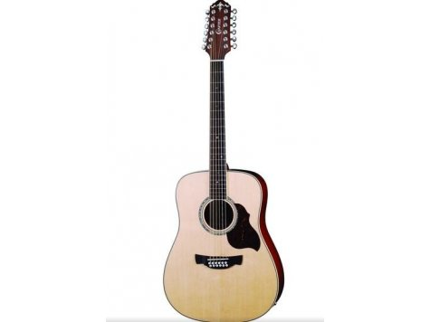 CRAFTER D-8-12EQ/N W/SB-DG WEST GUITAR