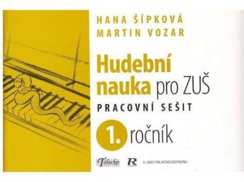 M.Vozár - Hudební nauka pro ZUŠ 1.ročník