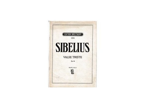 Sibelius Jean: Valse triste op.44