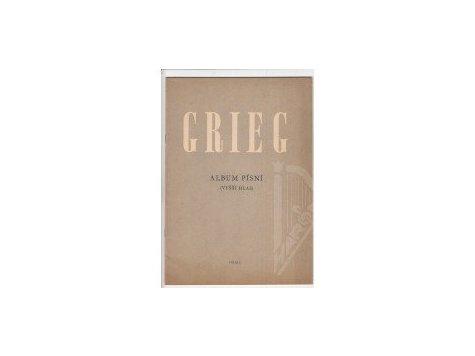 Grieg Edvard: Album písní /2