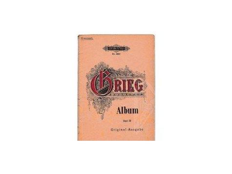 Grieg Edvard: Album -Lieder für eine Singstimme und Klavier