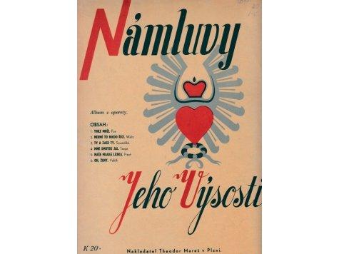 """Moren Jiří : Album z operety """"Námluvy Jeho Výsosti"""""""