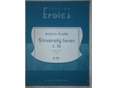 Dvořák Ant.: Slovanský tanec č.16