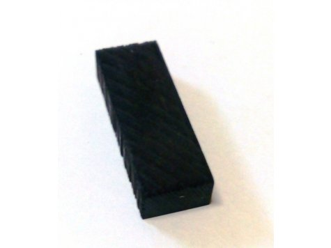 Kobylkový pražec housle eben 28x10x6 mm polotovar