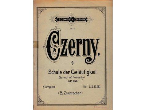 Czerny Carl: Schule der Geläufigkeit op.299 (Škola zběhlosti) - IV.sešit