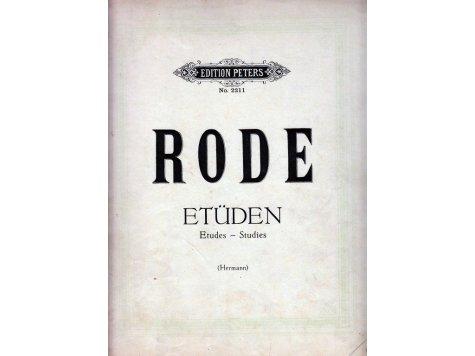 Rode P.: 12 Etudes pour violon