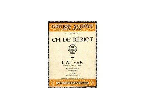 Bériot Ch.de: 1.Air varié d-moll op.1