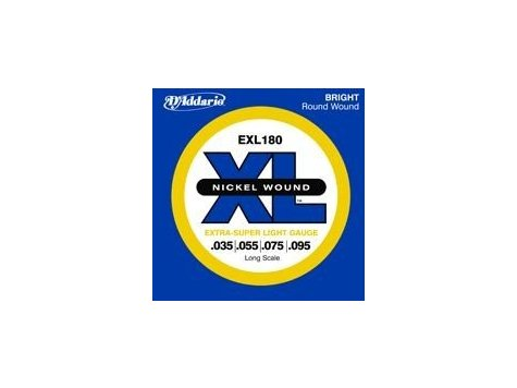 D'ADDARIO EXL180 .035 - .095