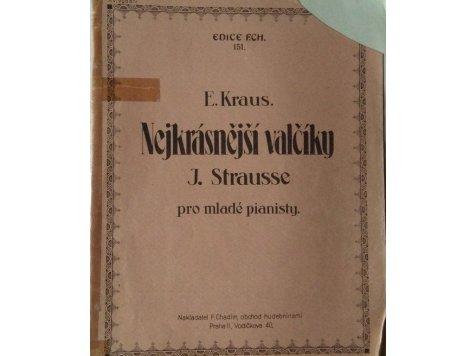 Strauss Johann: Nejkrásnější valčíky pro mladé pianisty