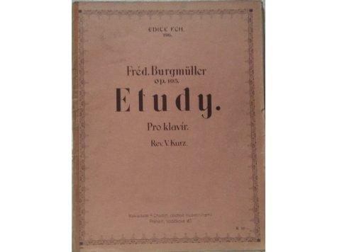 Burgmüller Fréd.: Etudy pro klavír op.105