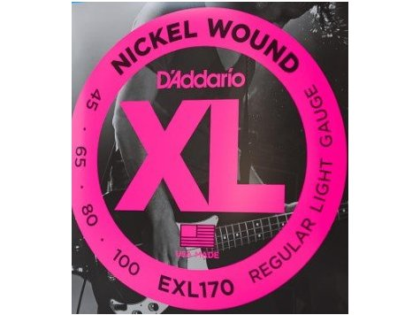 D'Addario EXL170 struny na basovou kytaru