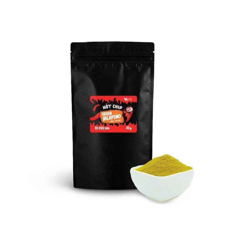 Green Jalapeño chilli prášek 30g